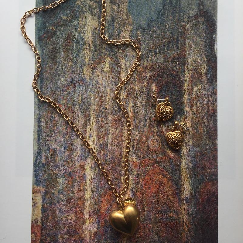Bling bling heart necklace