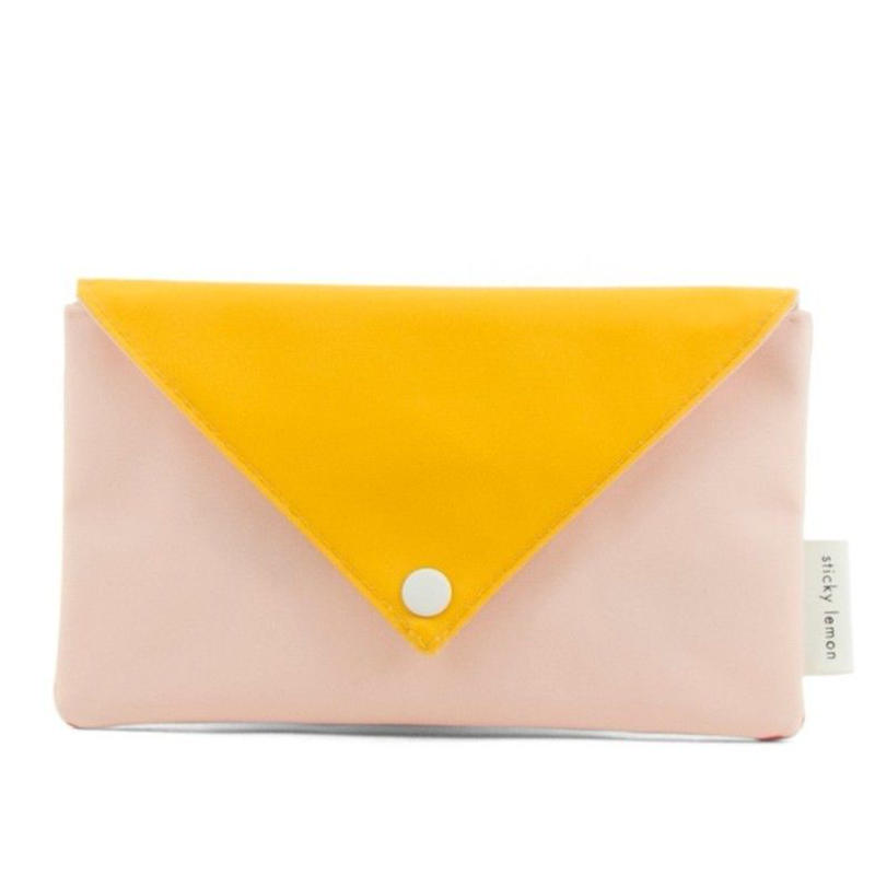 ペンケース ENVELOPE SOFT PINK - STICKY LEMON