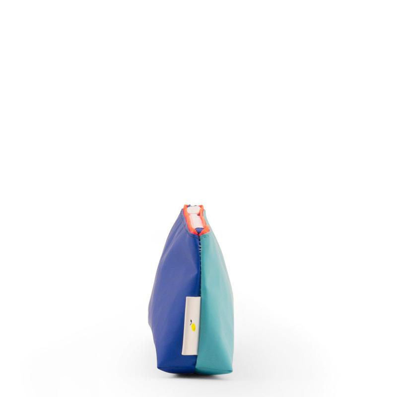 ペンケース DUO LARGE RETRO MINT / BLUE - STICKY LEMON