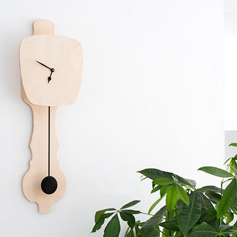 KLOQ / LARGE NAKED WOOD  時計