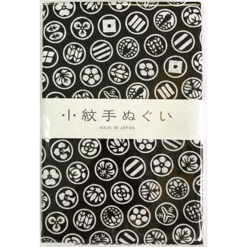 〔手拭壱本〕小紋手ぬぐい 家紋柄(33×90㎝)