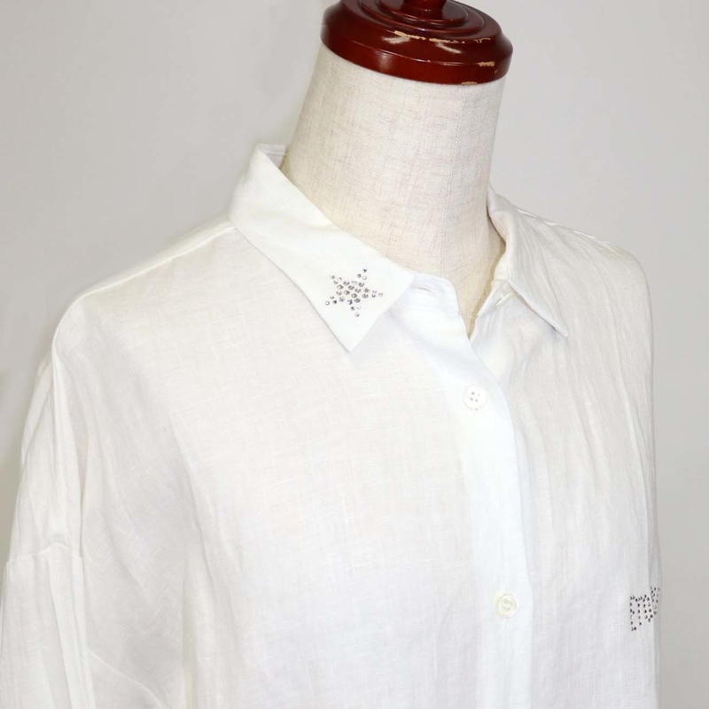 1901601 フレンチリネンシャツ