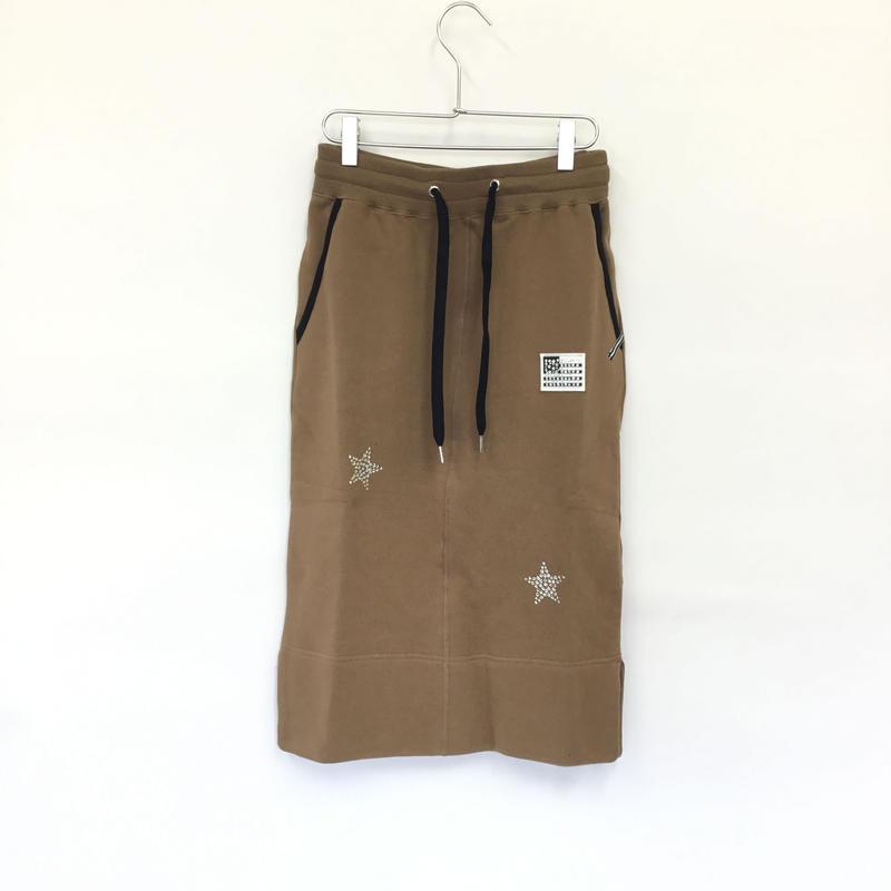 1804704    スワロ裏毛スカート