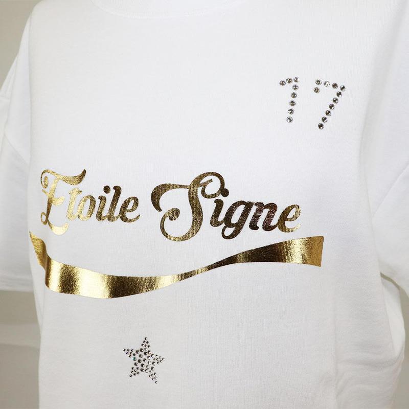 1901114 ミニ裏毛Tシャツ半袖ロング