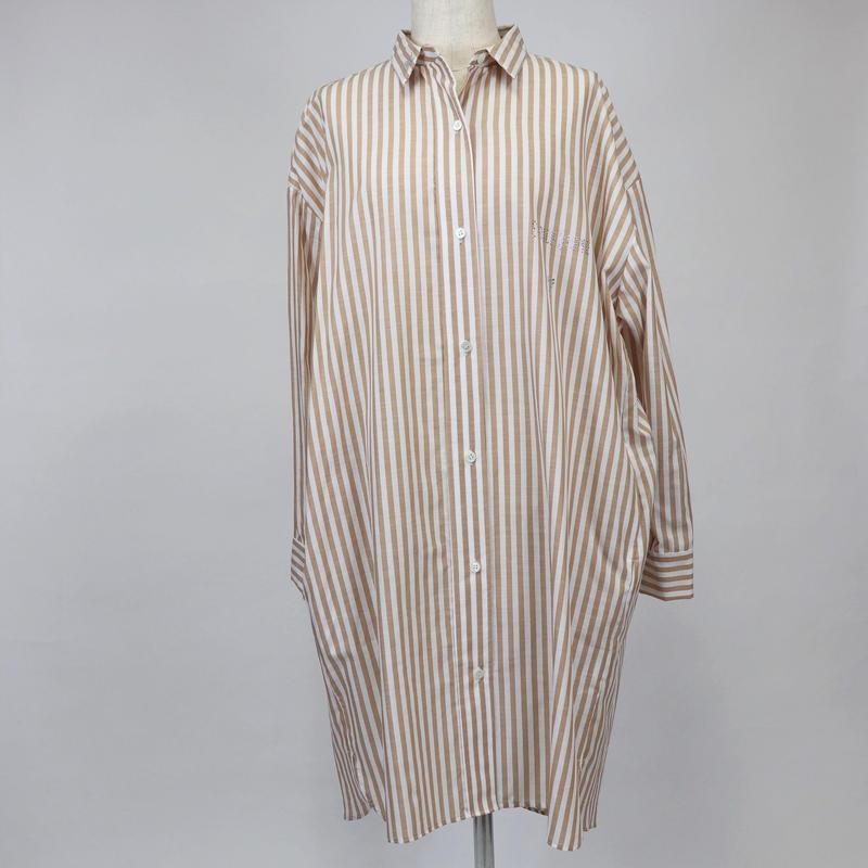 1901604    ロンドンストライプロングシャツ