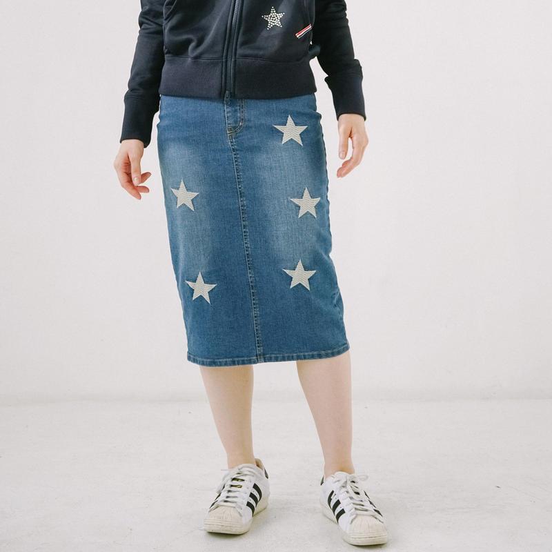 1810703A デニムスカート