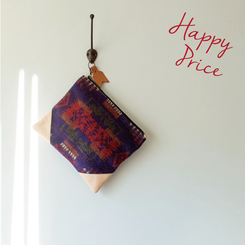 Me & Arrow | Vintage Fabric Clutch Bag