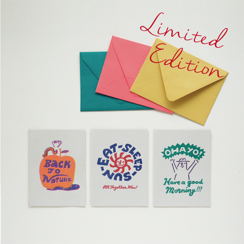 Early Birds × Lookout & Wonderland   OHAYO Greeting Card