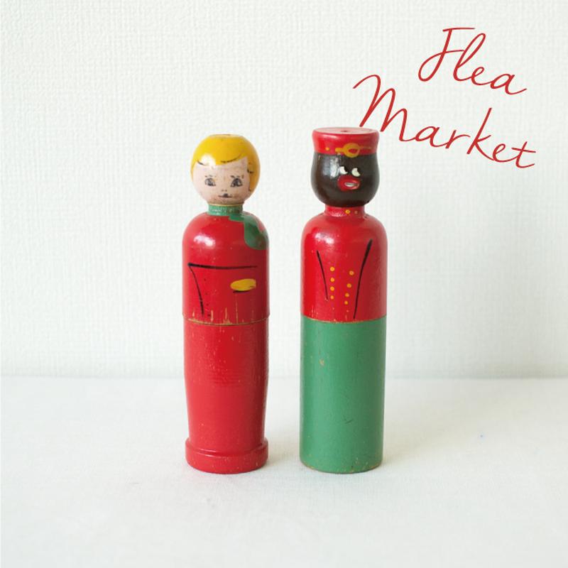 Flea Market Items | Vintage Crayon Holder Set