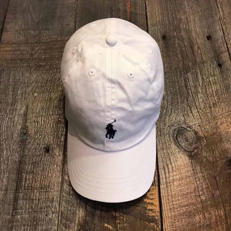 PORO RALPH  LAUREN CAP  ホワイト