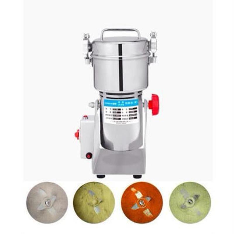 小型粉砕器 ハイスピードミル 製粉機 700g スペアパーツ付属 便利【新品 未使用品】