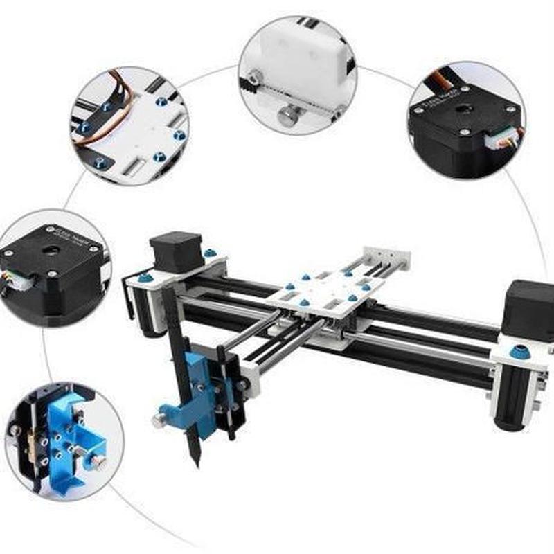 EleksMake rデスクトップ EleksDraw USB DIY XY プロッタペン描画ロボット描画マシン100-240V 描画機 DIY