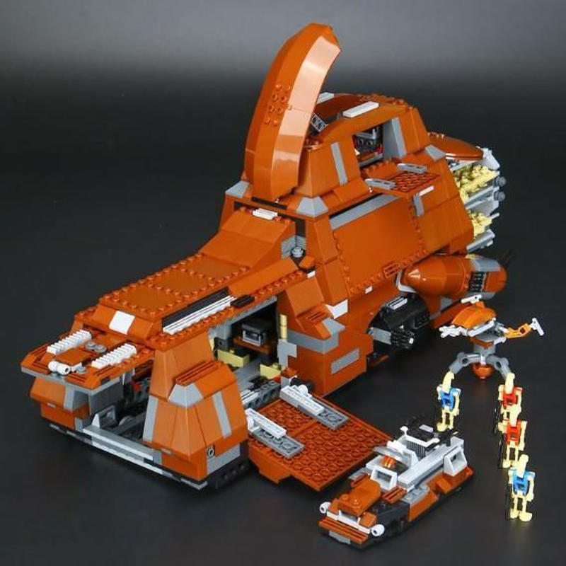 レゴ スター ウォーズ バトルドロイド 輸送機 lego 通商連合MTT (大型兵員輸送車) 7662 互換