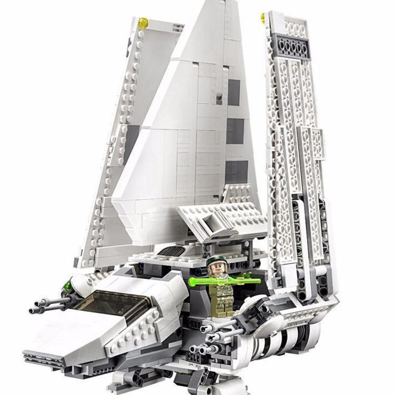 LEGO(レゴ)互換 スターウォーズインペリアルシャトルTydirium 2503ピース