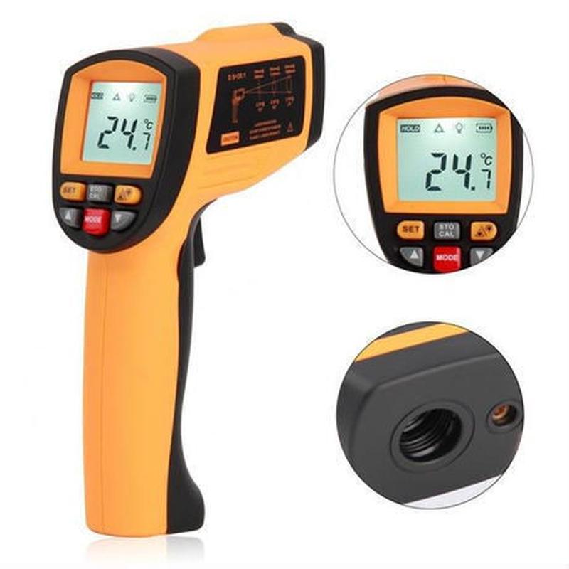 -50~1150℃まで 赤外線非接触型デジタル温度計