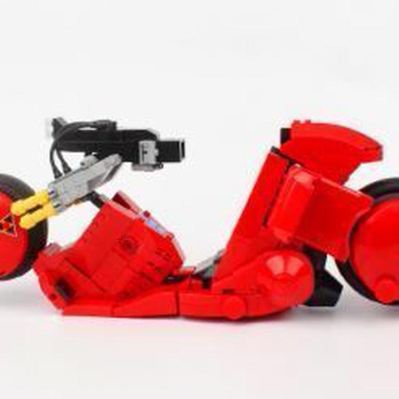 日本未上陸品!!AKIRA ( アキラ )金田 バイク モデル ◆ レゴブロック 互換 ◆