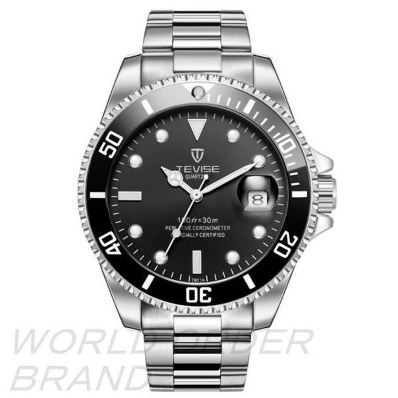TEVISE 自動巻き 腕時計 大人気 ブランド 高級感 ビジネス フォーマル ☆ハイエンド オマージュウォッチ