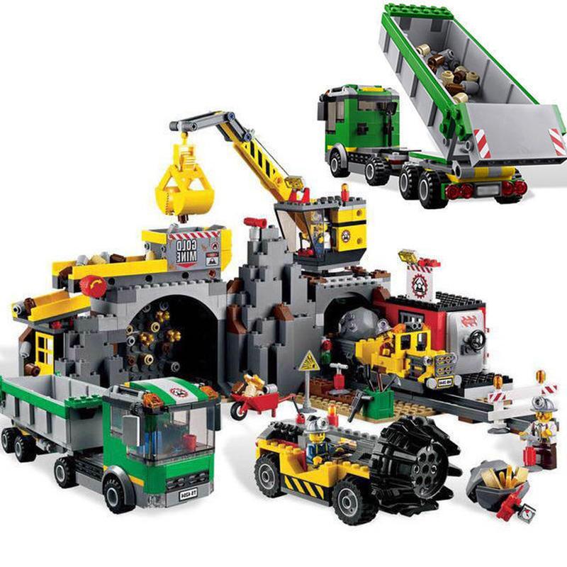 レゴ互換品 シティ ゴールドマイナーベース