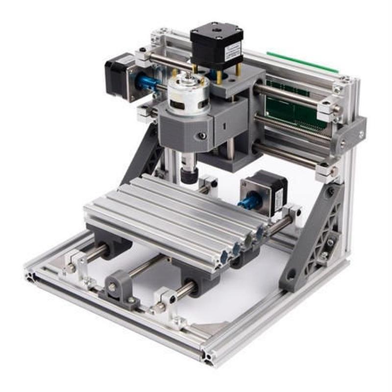 CNC1610 ミニ フライス盤+2500mWセット DIY 組み立てキット 3軸 木彫り彫刻機 レーザー彫刻機