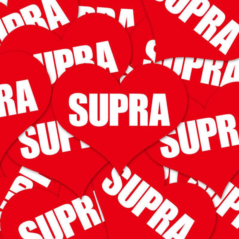 SUPRA HEART RED STICKER - スープラ ハート レッド ステッカー / TOYOTA トヨタ 2JZ JDM ドリフト USDM