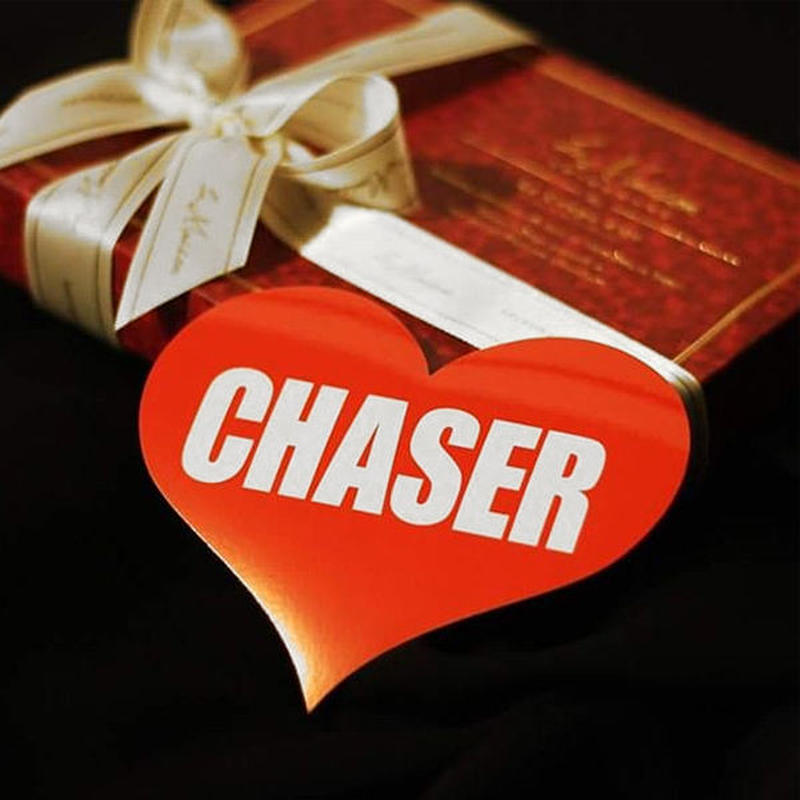 CHASER HEART RED STICKER - チ ェイサー ハート レッド ステッカー / TOYOTA 豊田 トヨタ JZX1 00 JZX90 1JZ JDM ドリフト