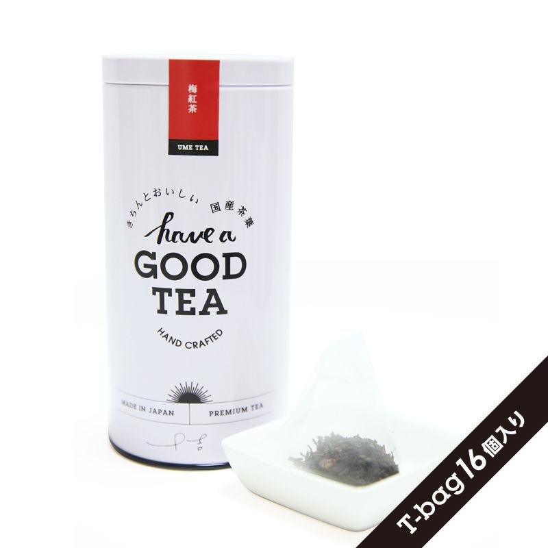 梅紅茶(T-bag16個入り缶)