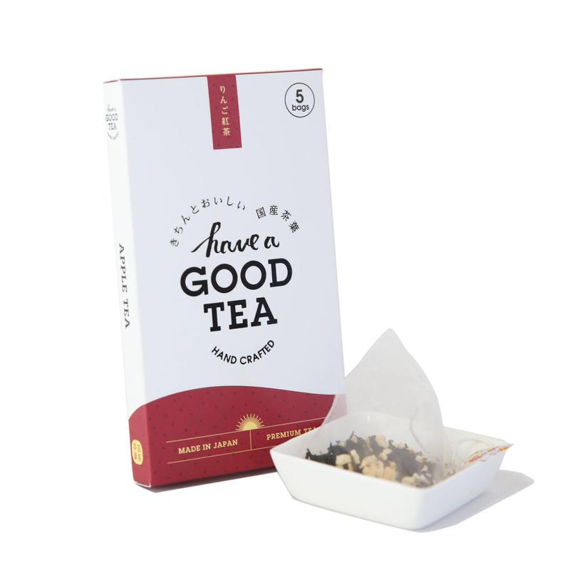 りんご紅茶 mini BOX(T-bag5個入り)