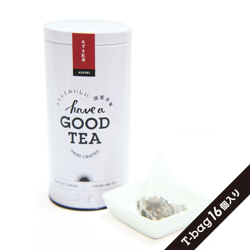あずき紅茶(T-bag16個入り缶)