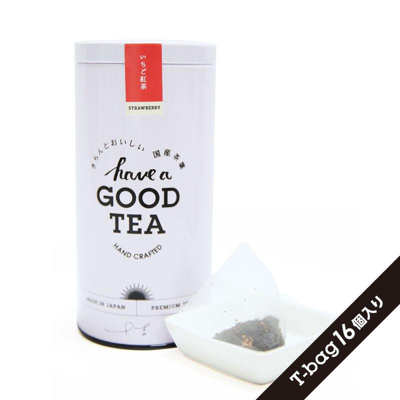 いちご紅茶(T-bag16個入り缶)
