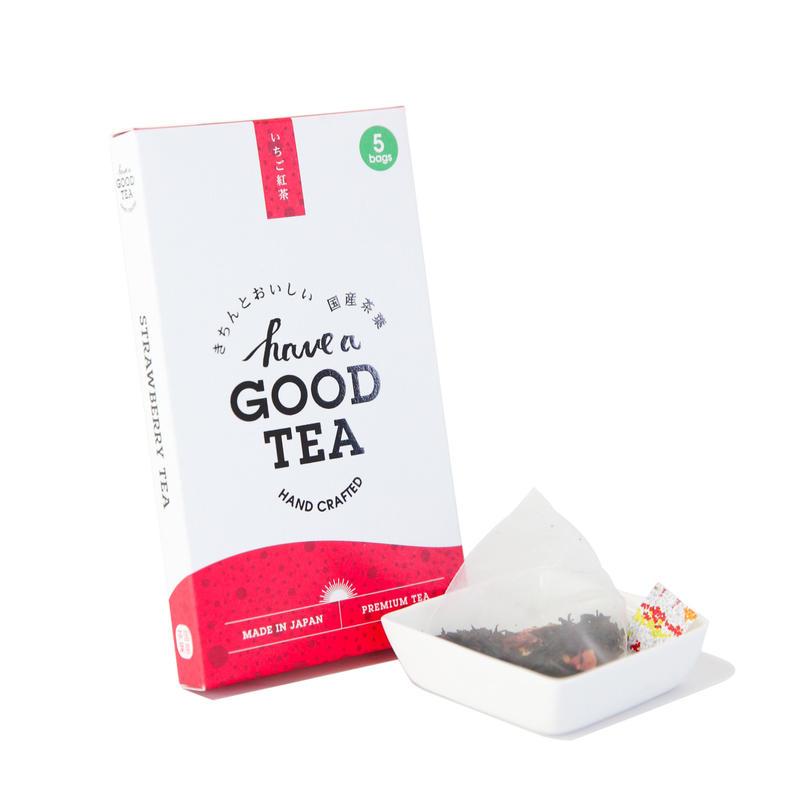 いちご紅茶 mini BOX(T-bag5個入り)