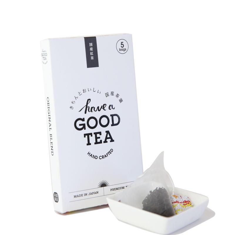 国産紅茶 mini BOX(T-bag5個入り)