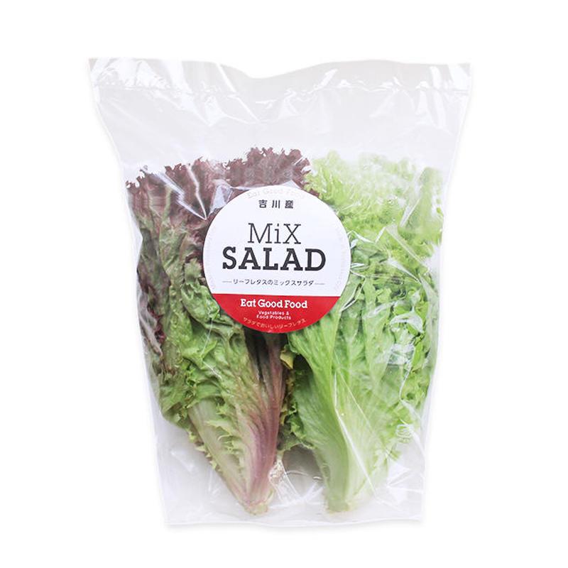 リーフレタスのミックスサラダ