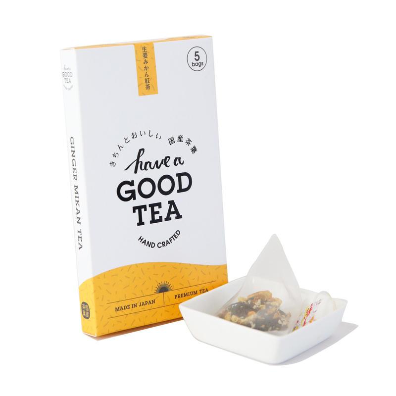 生姜みかん紅茶 mini BOX(T-bag5個入り)