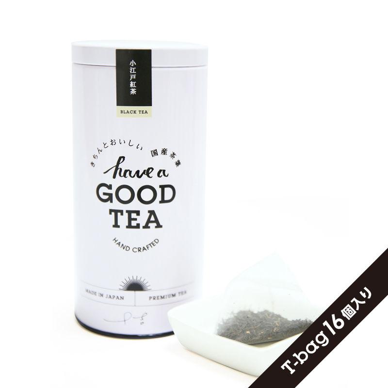 小江戸紅茶(T-bag16個入り缶)