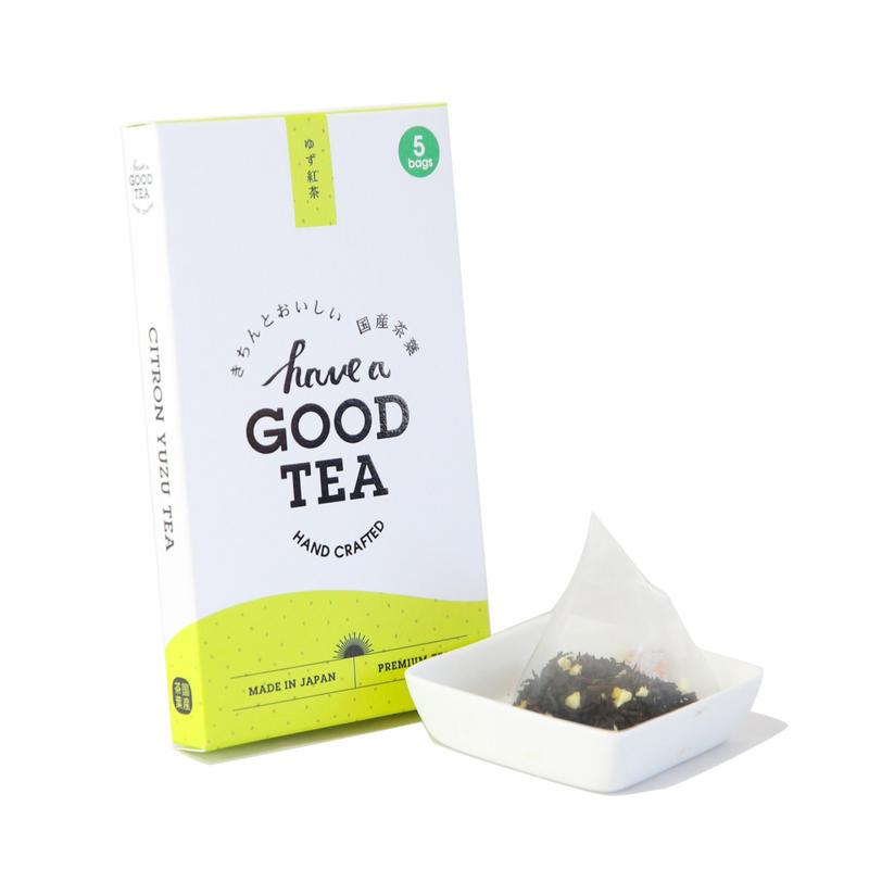 ゆず紅茶 mini BOX(T-bag5個入り)