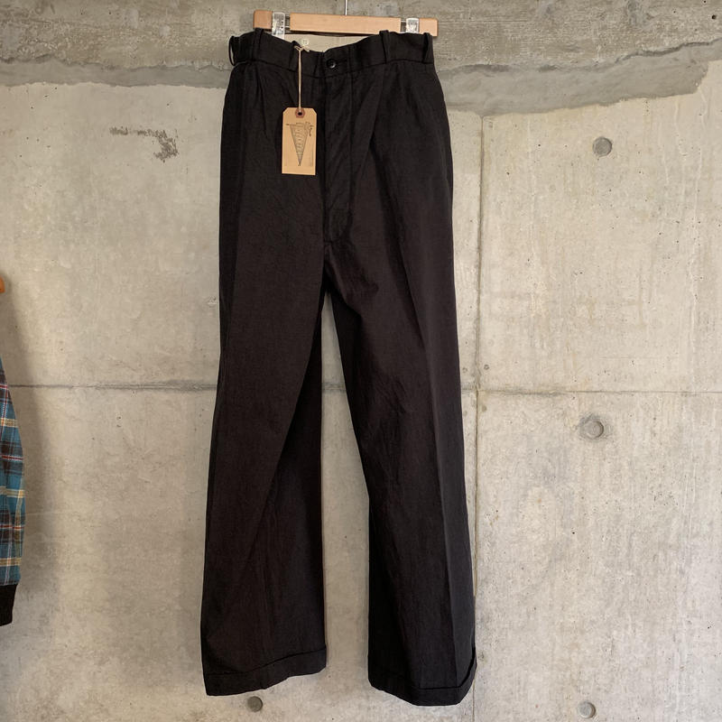 RAGTIME 2TACK CHINO TROUSERS(WASHED)