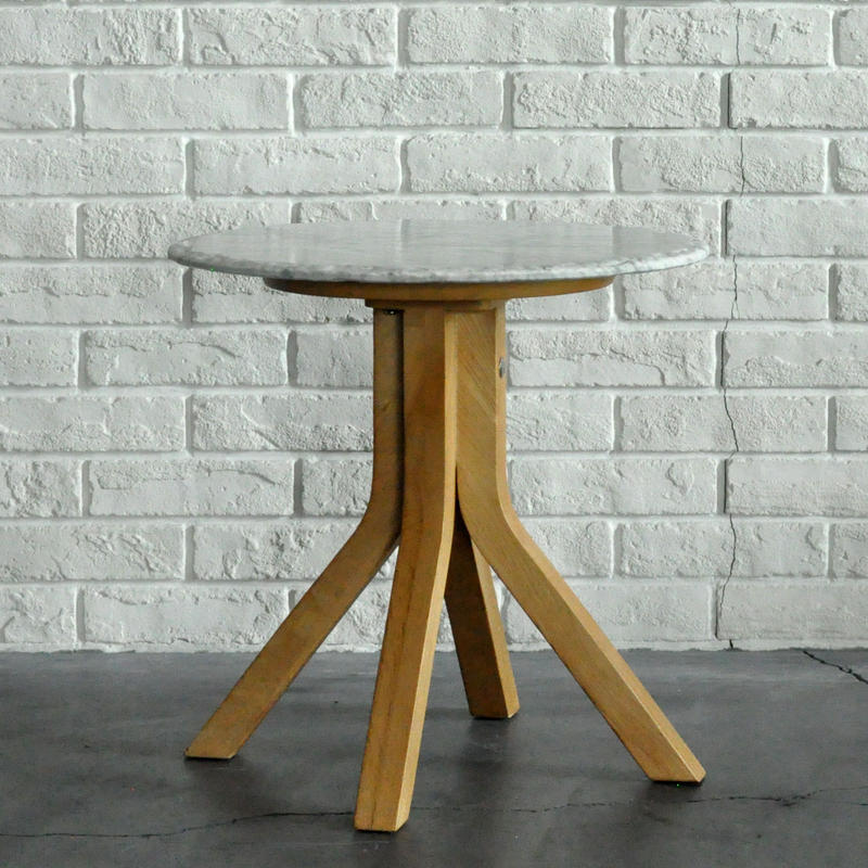 BLEU NATURE STONE TALL SIDE TABLE