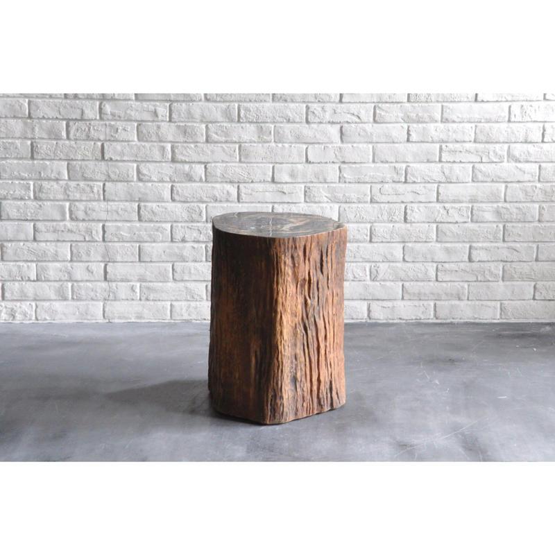 Tree Trunk Smoking Table
