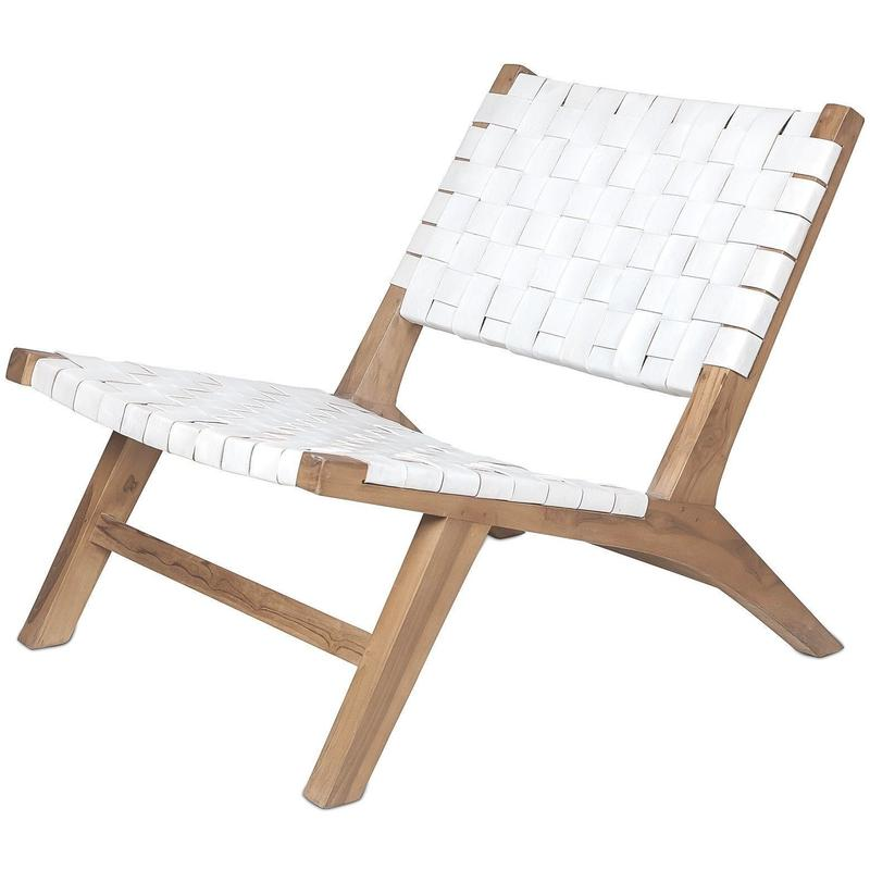dareels BELT CHAIR WHITE
