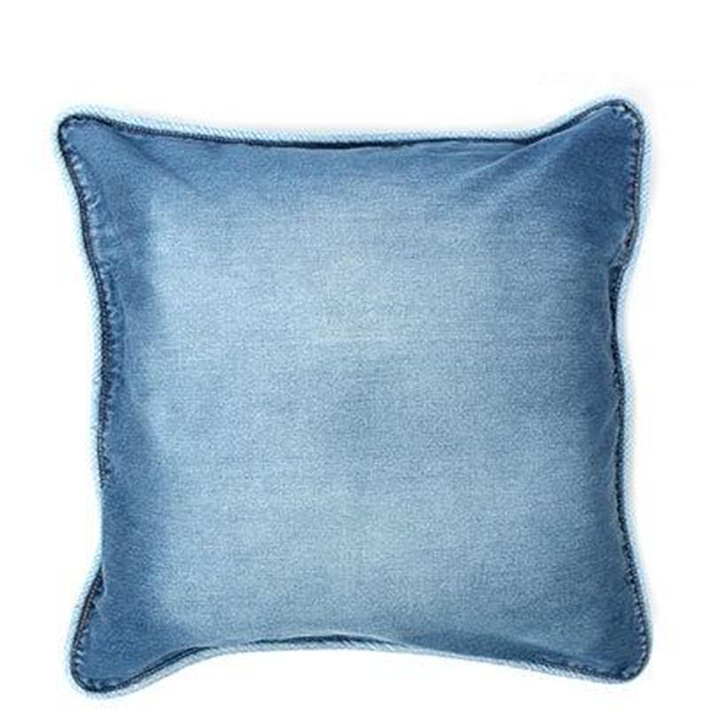 d-Bodhi BLUE DENIM CUSHION 60×60