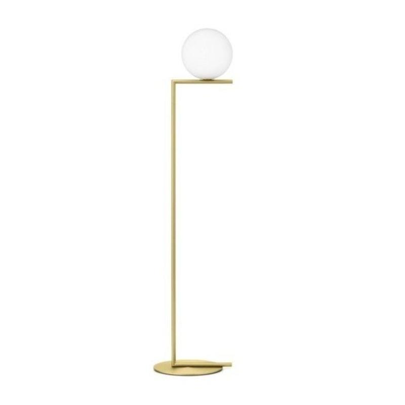 FLOS IC F2  FLOOR LIGHT GOLD