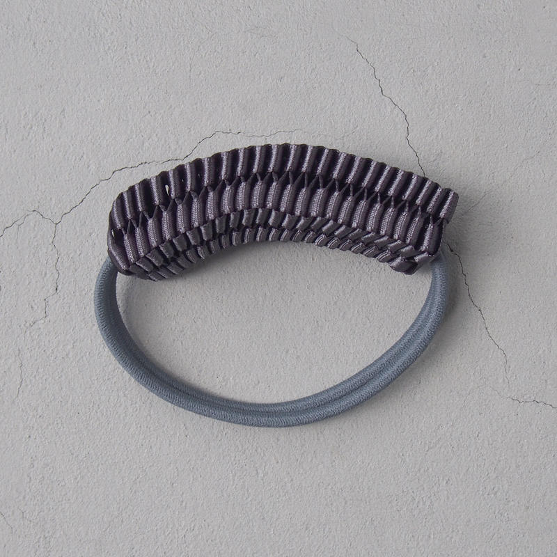 CHIKAKO YAJIMA  hair accessory Y15s-HA001 Charcoal gray