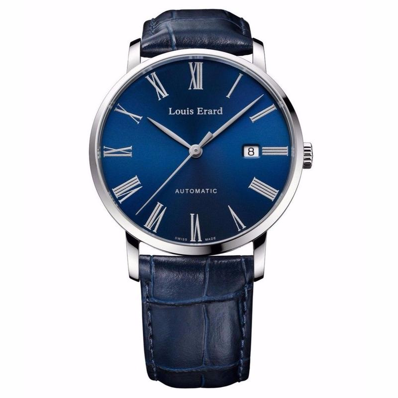 【日本 限定30本】Louis Erard Excellence 3Hands with Navy-Blue Dial(JAPAN Limited)【Web先行発売】