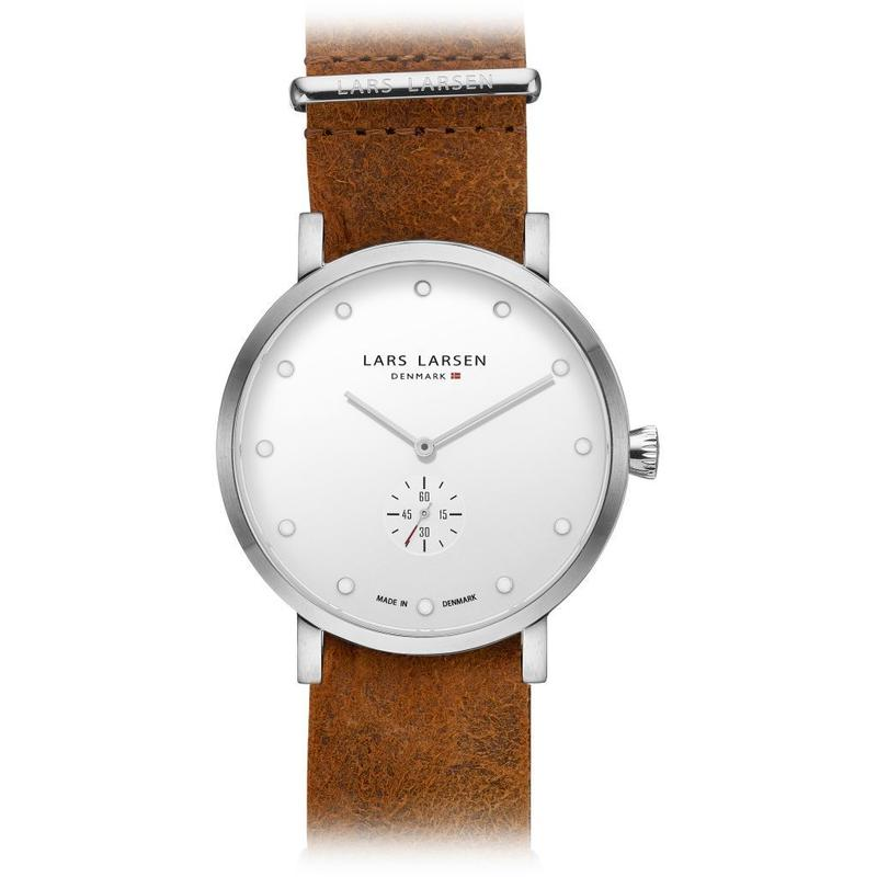 LLARSEN LW32  シルバーホワイト×コニャック / 132SWCZ