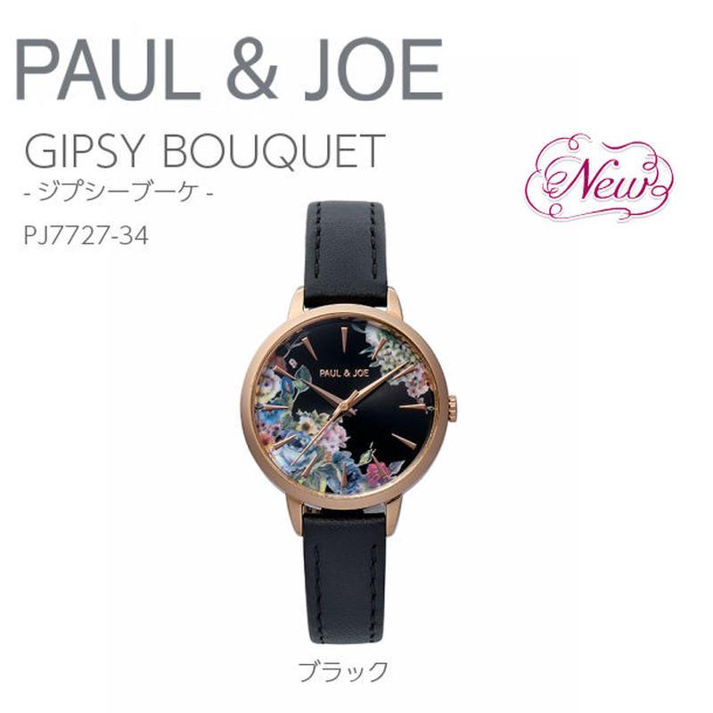 【再入荷】猫 GIPSY BOUQUET(ジプシー ブーケ)ブラック/PJ7727-34
