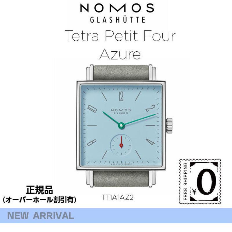 NOMOS Tetra Petit Four Azure(ノモス テトラ プチ フォー アズール)