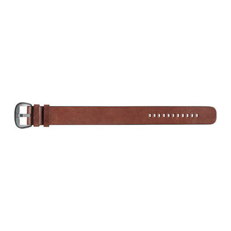 DIETRICH LACE-THROUGH STRAP (レーススルーストラップ)ストレートレザーストラップ ブラウン D968C00224241SS
