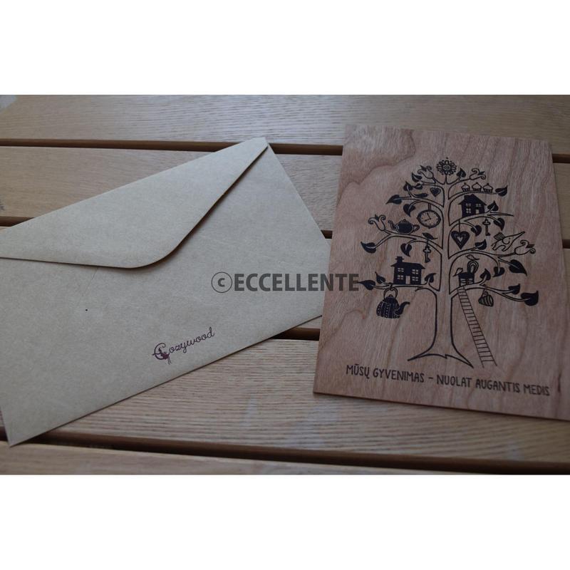 【東欧雑貨】【コージーウッド】ウッディーレターセット