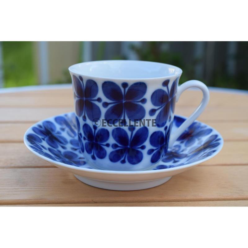 【北欧ヴィンテージ】【ロールストランド】【マリアンヌ・ウェストマン】モナミ コーヒーカップ&ソーサー