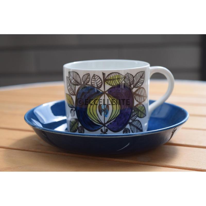 【北欧ヴィンテージ】【ロールストランド】【アウトレット】エデン コーヒーカップ&ソーサー